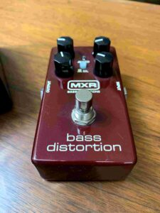 MXR Bass distortion_1
