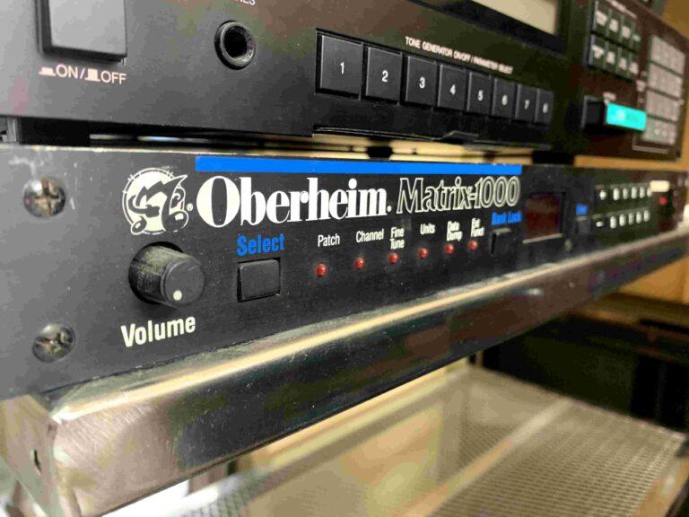 Oberheim Matrix 1000_1