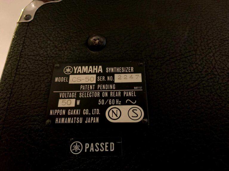 YAMAHA CS50_6