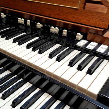 Un dettaglio delle tastiere