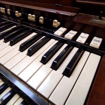 Organo Hammond tastiere