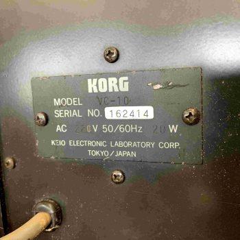 Korg VC 10_2